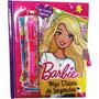 Meu Diário De Segredos Barbie Com Caneta Mágica