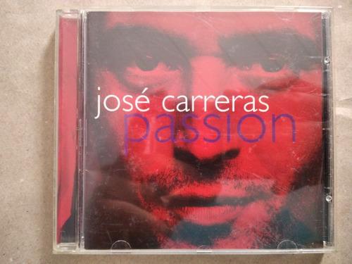 Cd José Carreras- Passion- 1996- Semi Novo-  10,00 Original
