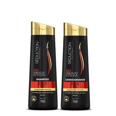 Kit Shampoo + Condicionador 450 ML S.O.S Hidratação Intensa - Seduction Professional
