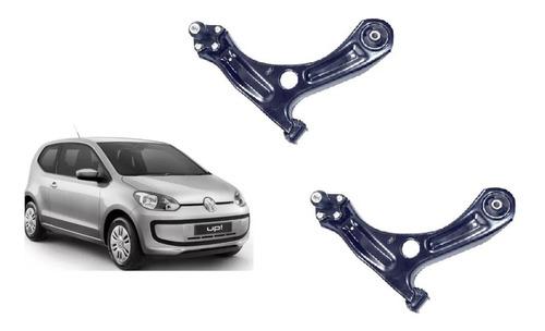Bandeja Leque Volkswagen Up 2014 2015 2016 2017 2018 Completa Para Os Dois Lados Buchas E Pivo Qualidade Original