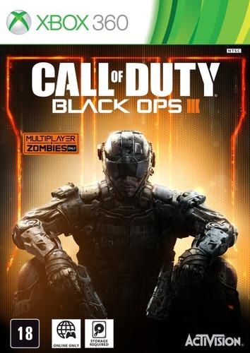 Call Of Duty Black Ops Iii Xbox 360 M Fisica Lacrado