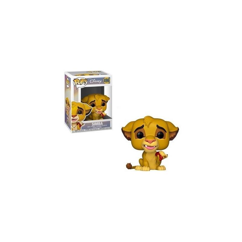 Simba Pop Funko #496 - O Rei Leão - Disney
