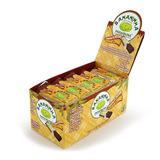 Bananinha Paraibuna Bananada com cobertura de chocolate 20un. 23g.