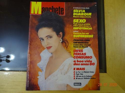 Revista Manchete 1851 Outubro 1987 Iates Sexo Sílvia R432 Original