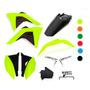 Kit Plástico Crf 230 Amx Premium 2008 2019 Neon Laranja Verd