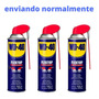 Kit 3 Wd 40 Desengripante 500ml Flextop (kit C/ 3)