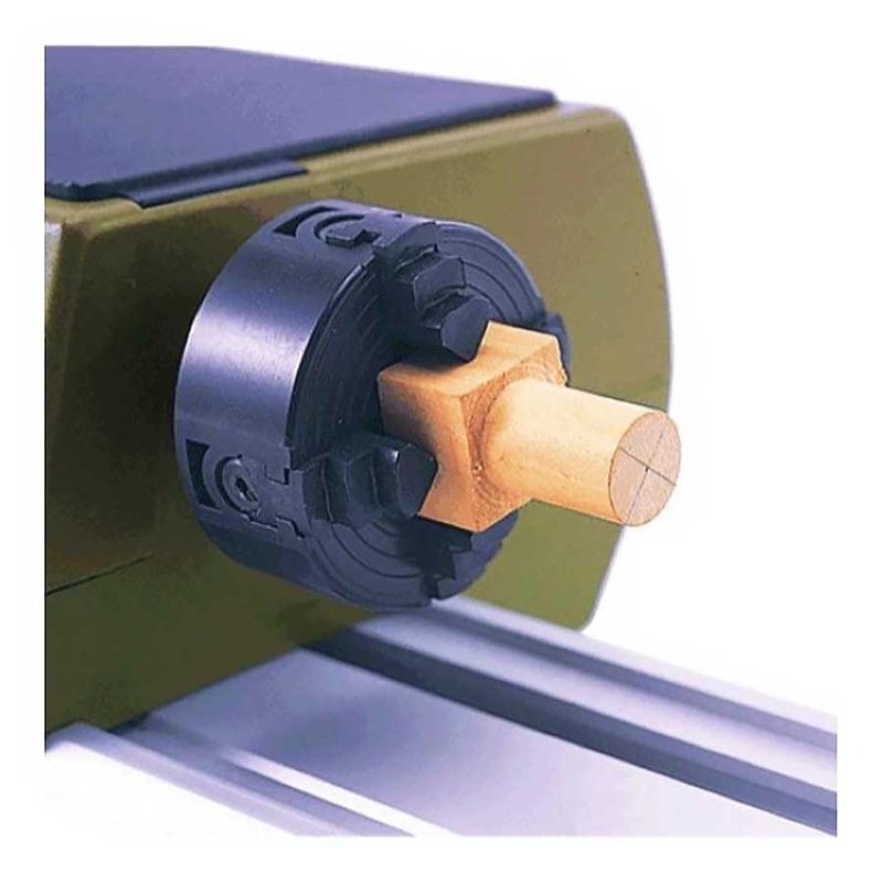 Placa de 4 Castanhas de Plástico para Torno de Madeira - DB250 - 27024 - Proxxon