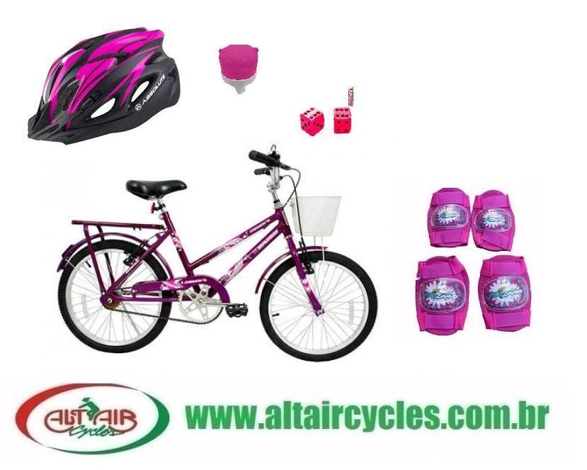 Bicicleta Cairu Gênova com Acessorios