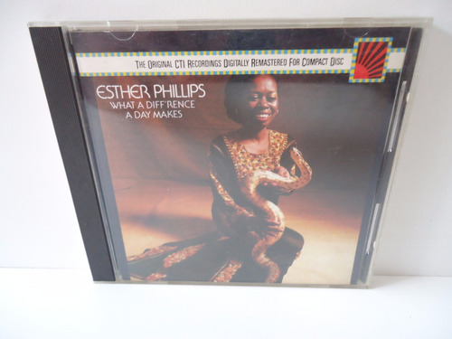 Cd Esther Philips What Diff