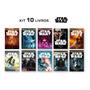 Kit Com 10 Livros Star Wars Pronta Entrega