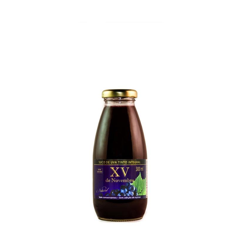 Suco de Uva Tinto 300ml - XV de Novembro