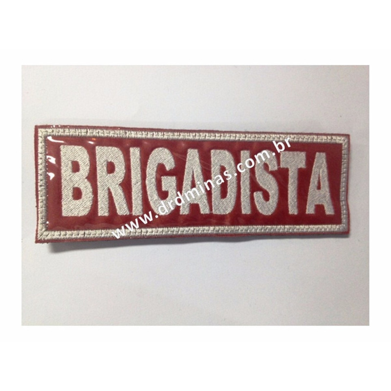 Etiqueta Bordado Brigadista - U  15 x 5