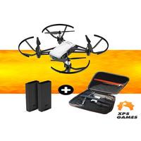 Drone Ryze/Dji Tello + Bateria Extra + Case Neo Premium - Branco