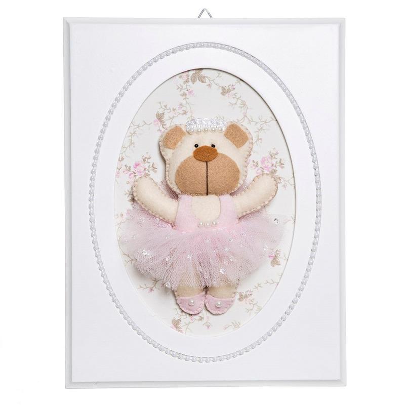 Quadrinho Ballet Perolas Ursa Bailarina