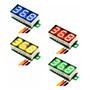 Mini Voltimetro Digital 12v Medidor Bateria Som Automoto Dc 3 Fios Com Remote Atacado