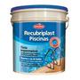 Tinta Para Piscina Azul Impermeabilizante 3, 6l Recubriplast
