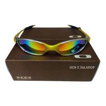 209111ac1 Comprar Oculos Oakley Juliet 24k Arco-iris +chaves+teste 12x S/juros
