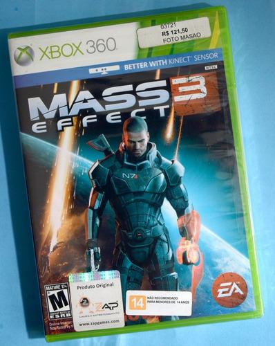 Jogo Mass Effect 3 Xbox360 Original