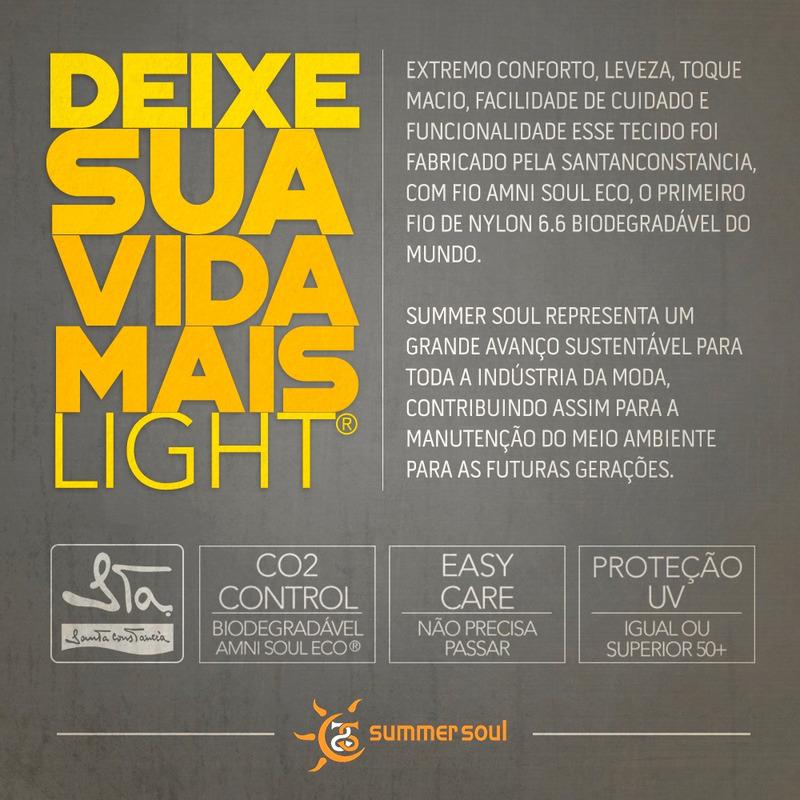 Top Summer Soul Frente Única Preto
