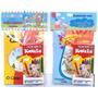 50 Kits Livro De Colorir Giz C/ Embalagem E Personalizado