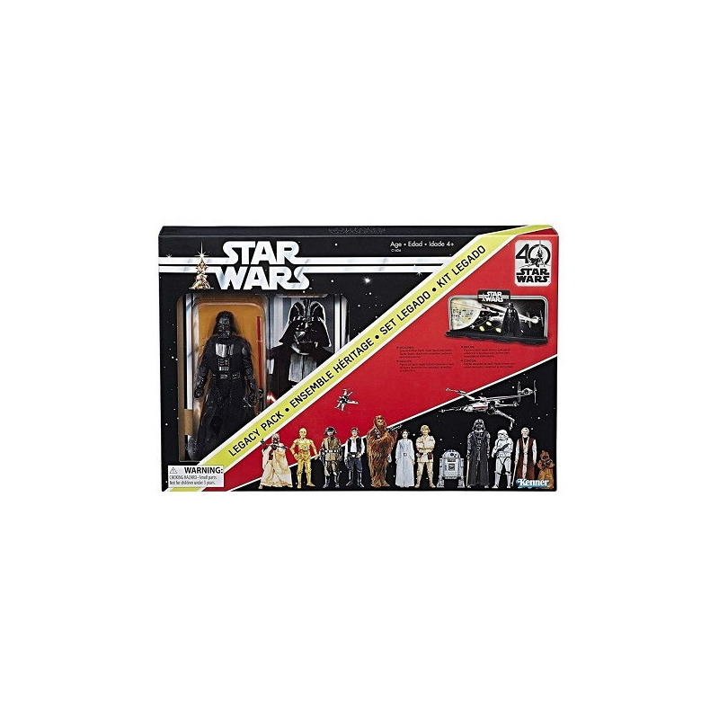 Darth Vader Star Wars 40th Anniversary Legacy Pack - Kenner