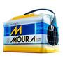 Bateria Moura 60 Amperes Volkswagen Parati 1.6 Mi/1.8 Mi/2.0 Mi (1997 A 2013) / Passat 1.8 (1990 A 2005) M60ax