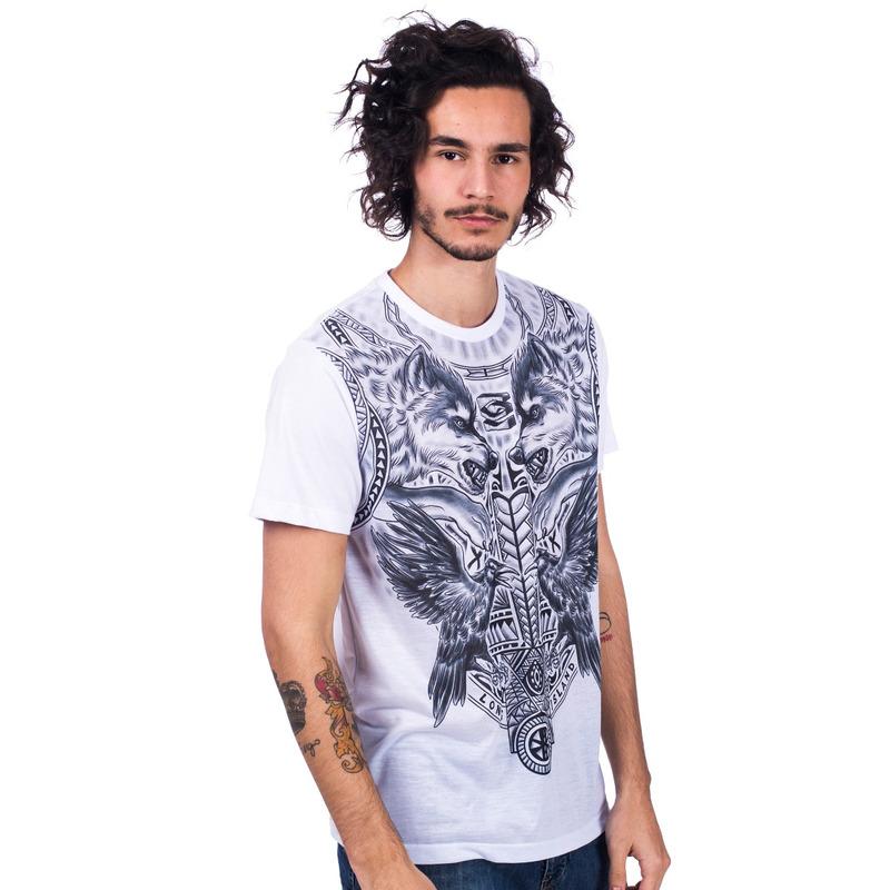 Camiseta Long Island Lobo Branca