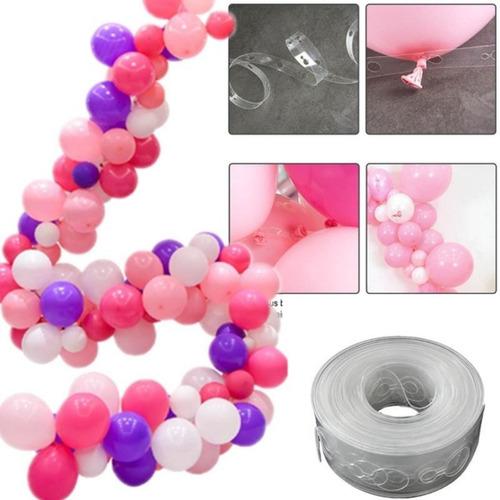 Fita Tira Suporte Para Arco Balões Desconstruído Fita 5 Mt Original