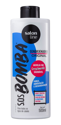 Salon Line S.o.s. Bomba Original - Condicionador 500ml Original