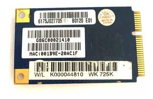Placa De Wifi Do Notebook Hp Pavilion Dv6000 Original
