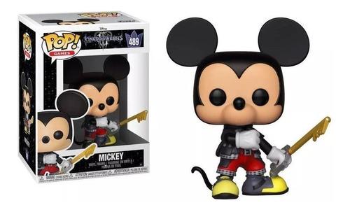 Mickey 489 Kingdom Hearts 3 Funko Pop! Disney Games Boneco Original