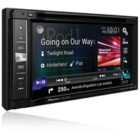 CENTRAL MULTIMÍDIA 2 DIN TELA ''6.2'' MIXTRAX DVD/USB/AM/FM/TV/BT GPS AVIC-F980TV