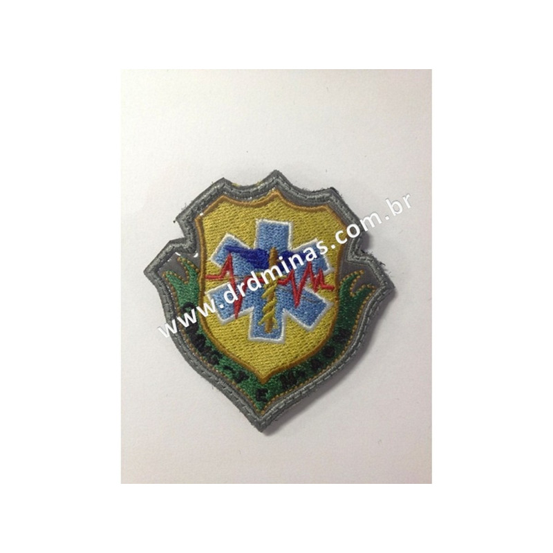 Distintivo Bordado TEM - CBMMG