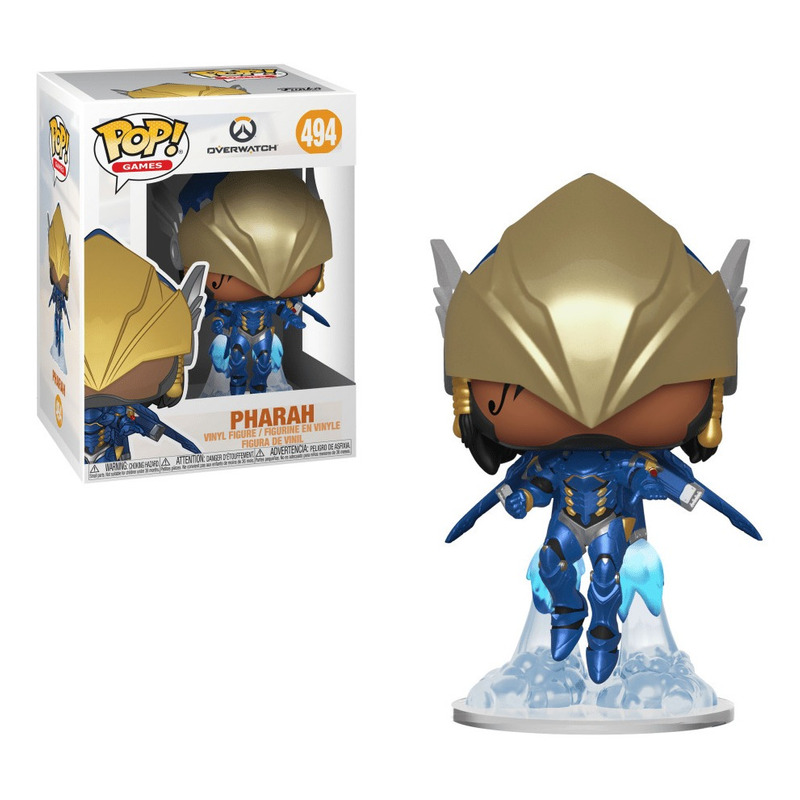 Pharah Victory Pose Pop Funko #494 - Overwatch - Games