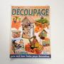 Revista Arte Em Découpage Porta toalha Caixote Madeira Bb39