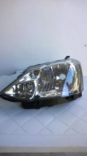 Farol Toyota Etios Carcaça Preta Lado Esquerdo 2013