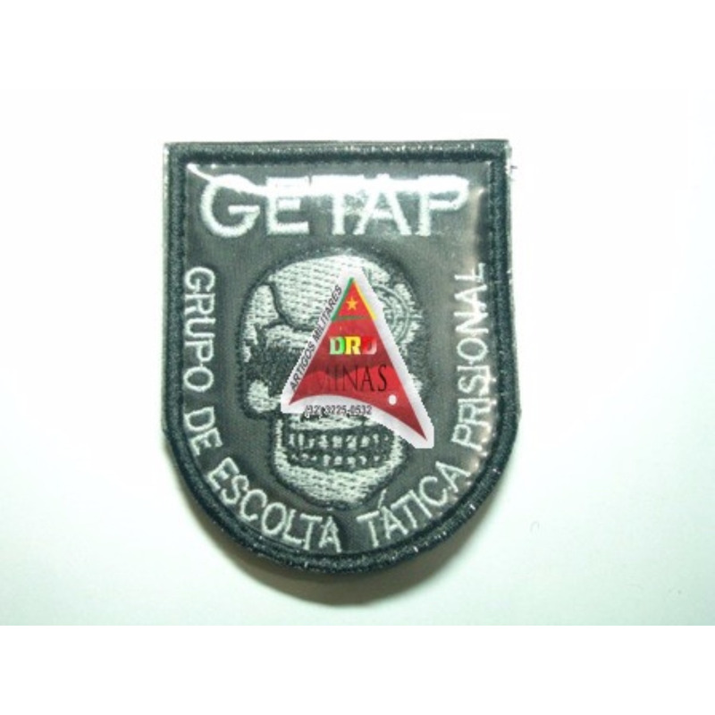 Patch / Distintivo Bordado GETAP