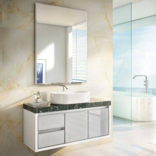 Kit Gabinete Banheiro Tampo Em Granitoespelhocuba à Venda