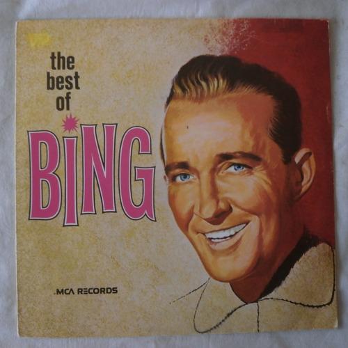 Lp The Best Of Bing Crosby 1973, Disco De Vinil Original