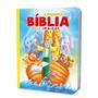 Bíblia Infantil Ilustrada Menino E Menina Brinde