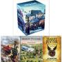 Box Harry Potter Vol. 8 E 2 Livros Harry Potter Ilustrados