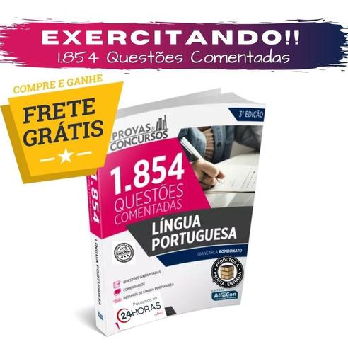 Apostila 1854 Questões Comentadas Lingua Portuguesa-alfacon Original