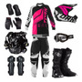 Roupas De Proteção Para Mulher Trilha Motocross Pro Tork Jet