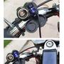 Tomada Carregador Para Moto Carrega 12v E 5v Gps É Celular