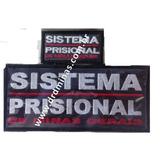 Etiqueta Sistema Prisional - Kit