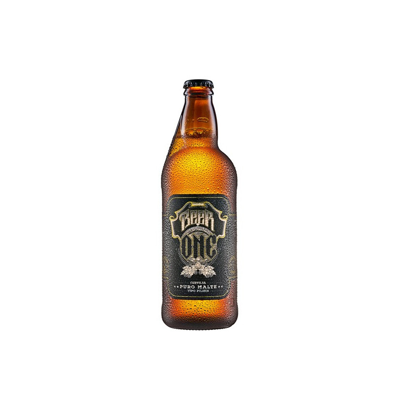 Cerveja Beer One 500ml (Cx c/ 6 Uni) - Stoliskoff