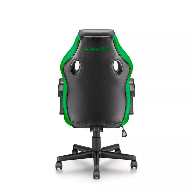 Cadeira Gamer Verde Warrior Multilaser - GA160