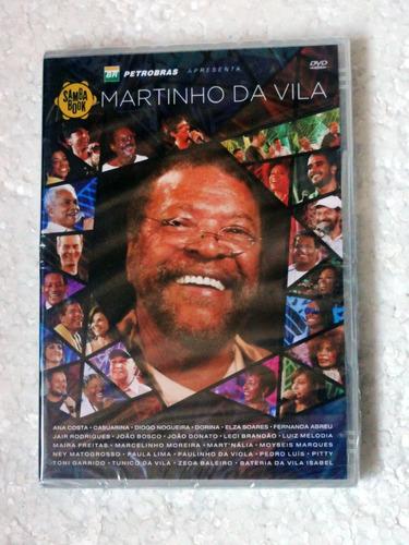 Dvd Martinho Da Vila Sambabook (2013) Novo  Lacrado! Original