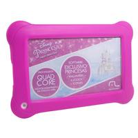 Tablet Multilaser Disney Princesas 8GB 7 Quad Core - NB239