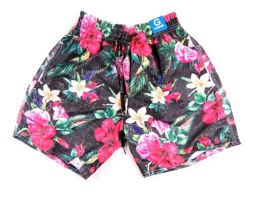 Short Masculino Moda Praia Florido Summer Carnaval 2020 Original